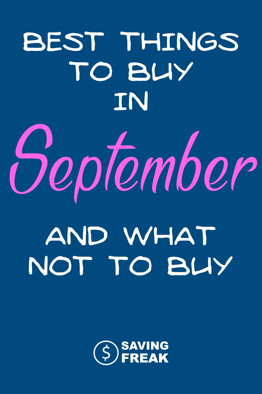 Best Things to Buy in September sales