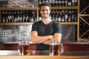 bartender is a top paying part time job with no high school diploma