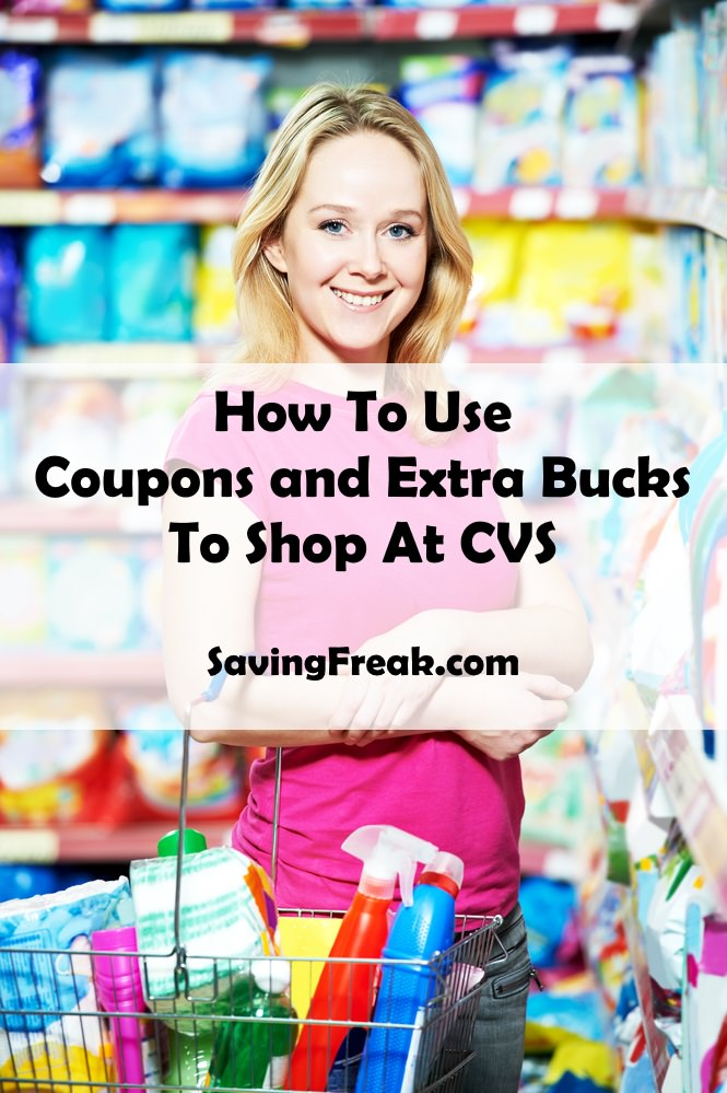 How to Use Coupons and Extra Bucks at CVS