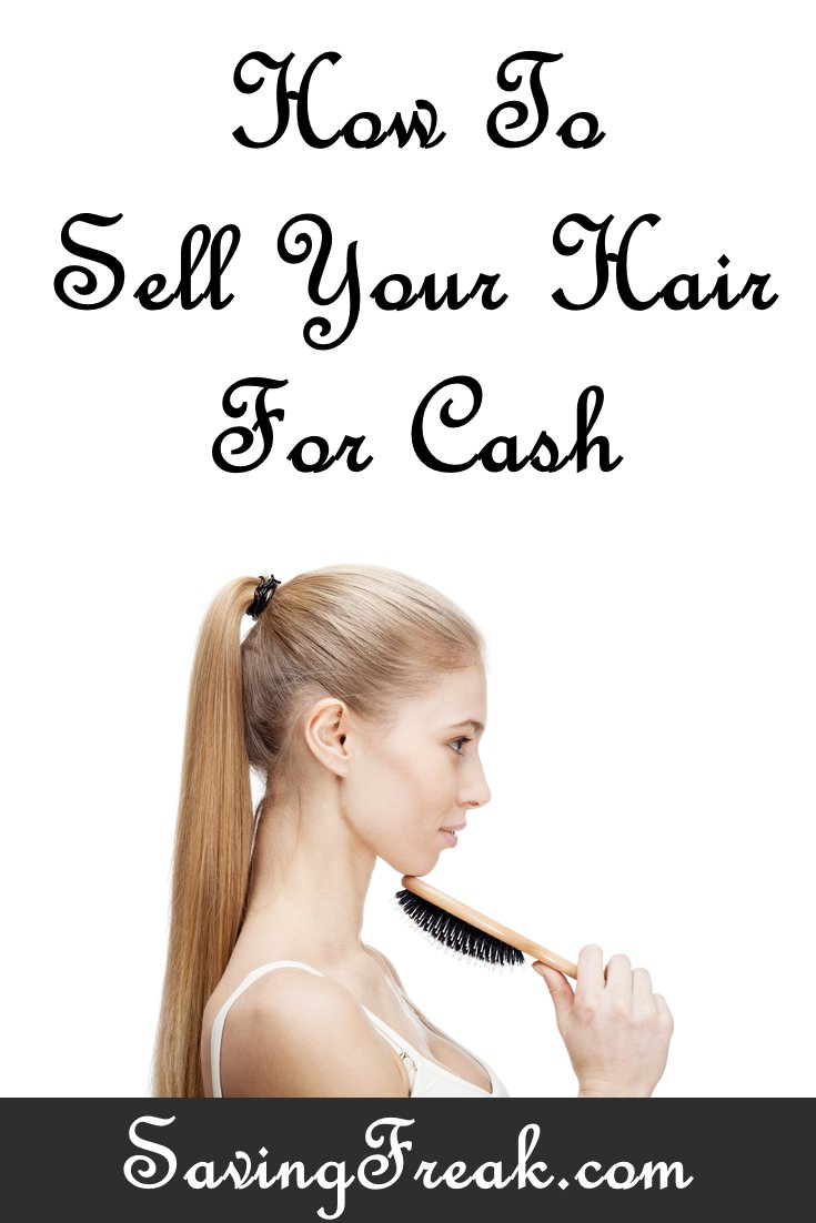 Selling your hair for cash online