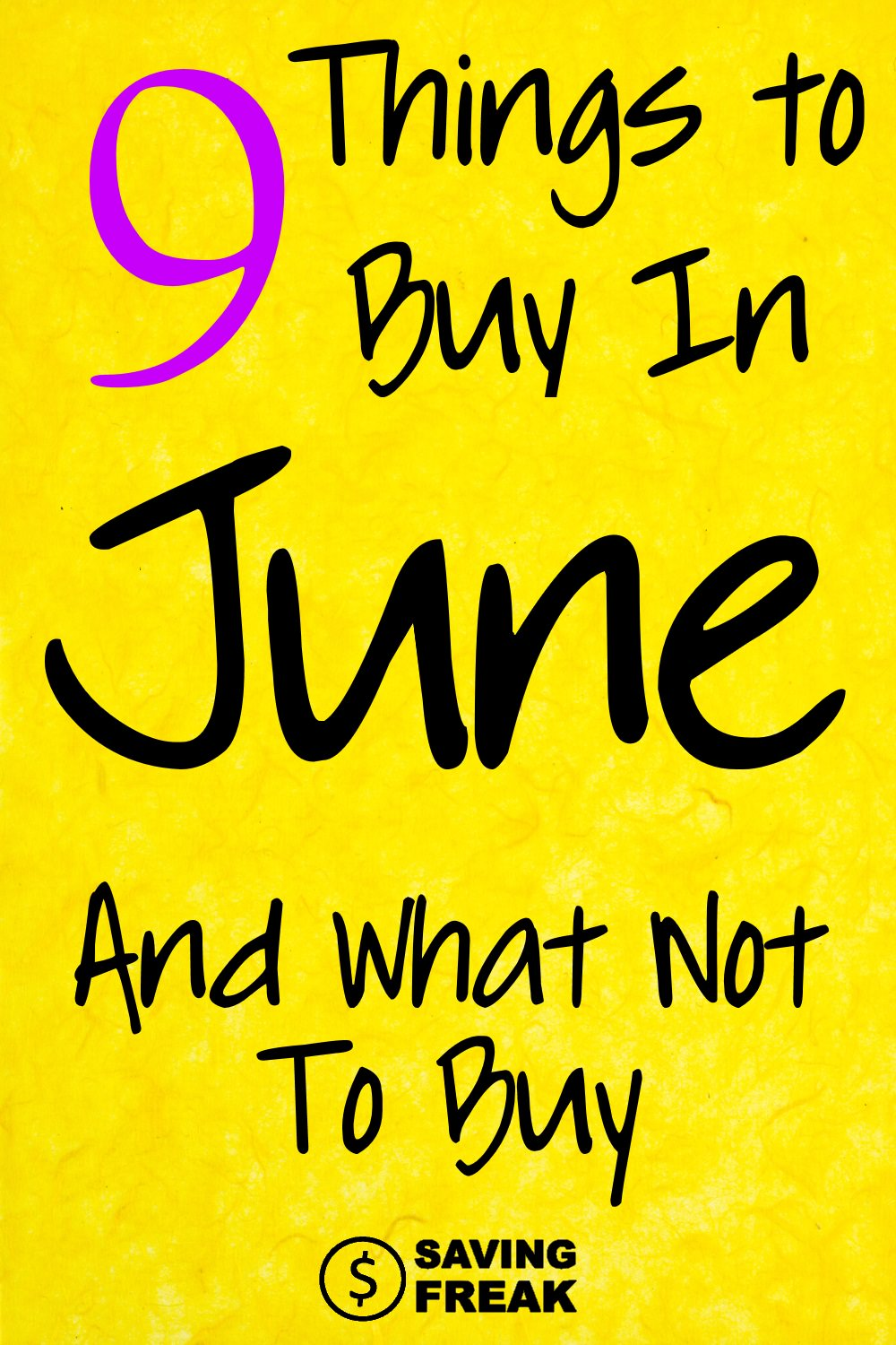 What to buy in June Sales