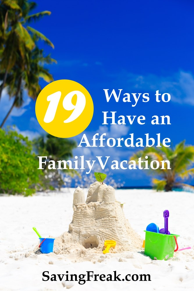 affordable family vacations on a budget