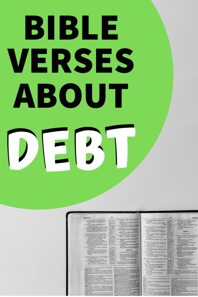 best bible verses about debt