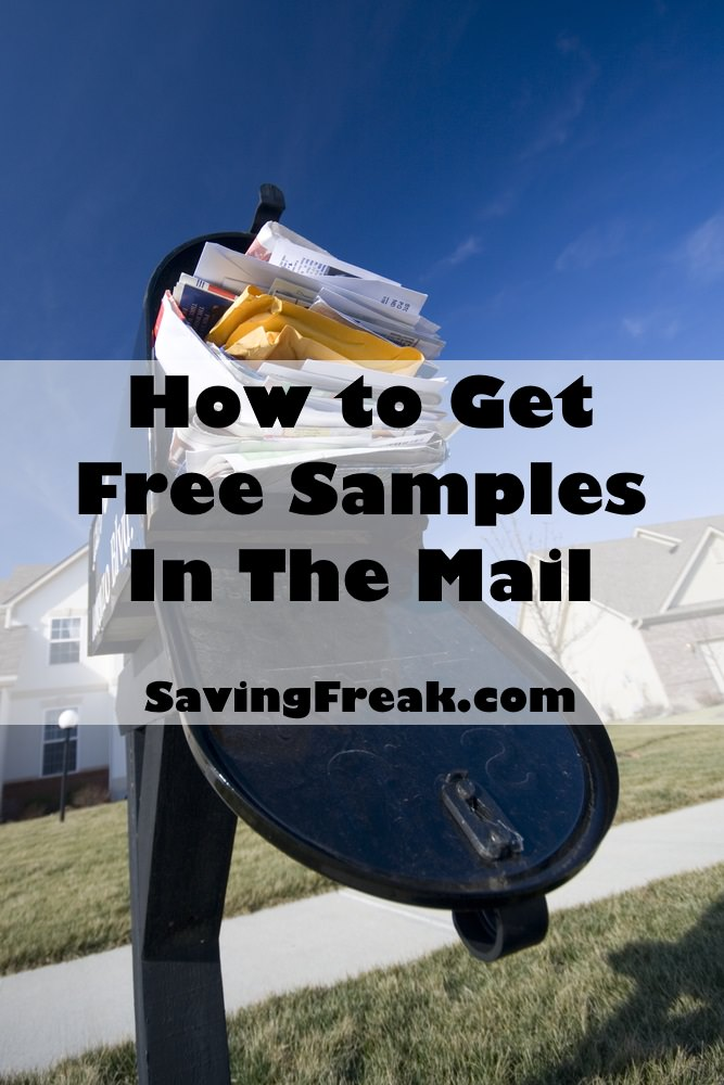 best sites for free samples by mail