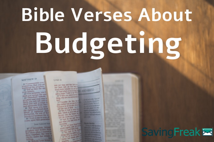 bible verses about budgeting