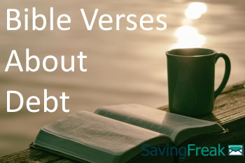 bible verses about debt