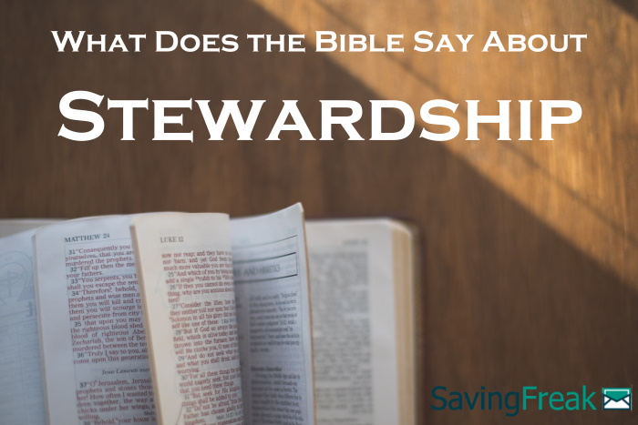 bible verses about stewardship