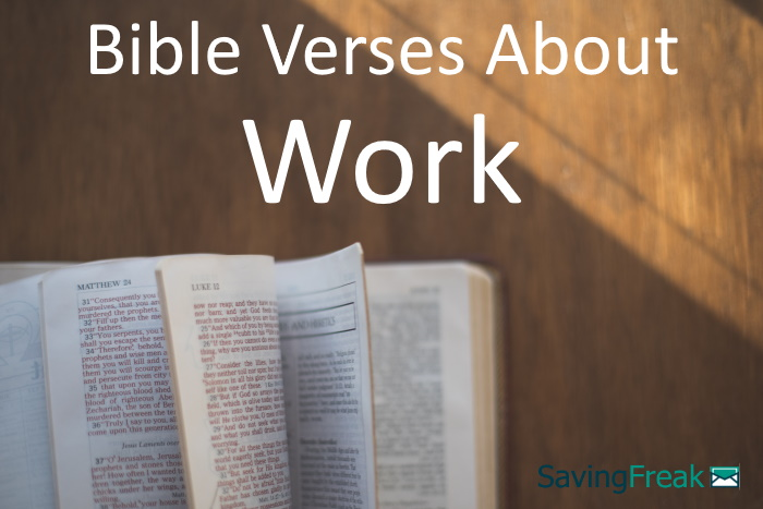 bible verses about work
