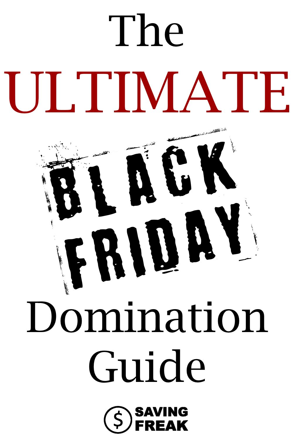 Learn all the ins and outs of shopping with this amazing Black Friday guide for shopping domination.