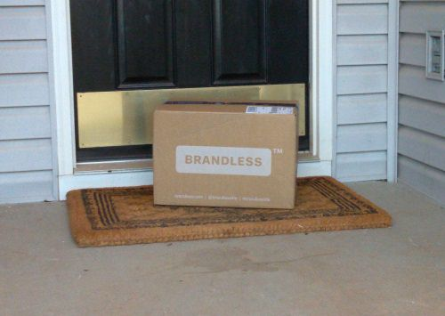 brandless box delivery
