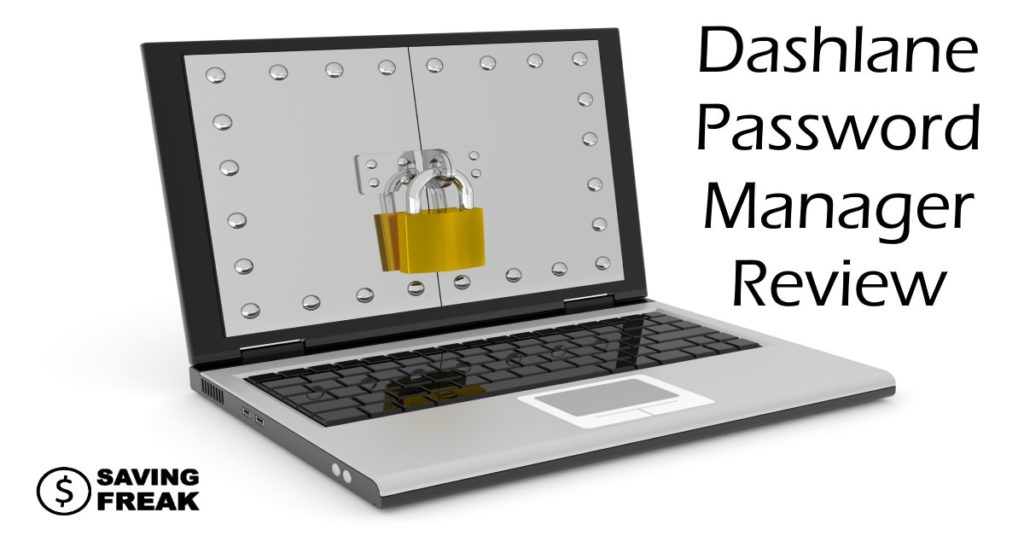 loptop showing dashlane password manager review
