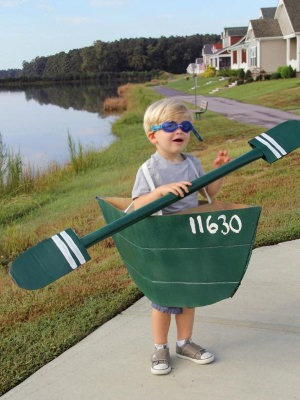 diy row boat costume
