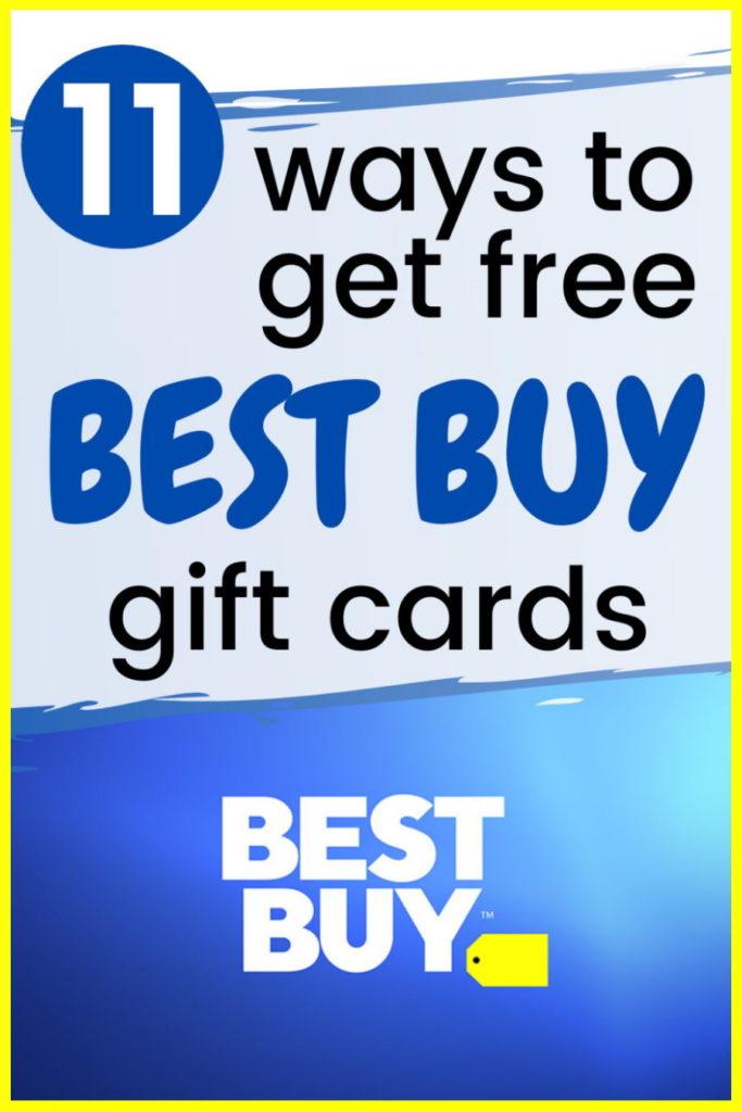 earn free best buy gift cards online