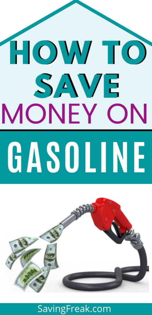 easy ways to save money on gasoline