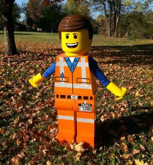 emmet lego movie costume