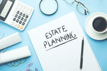 what is estate planning with stationary on table
