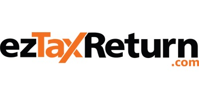 ez tax return service logo