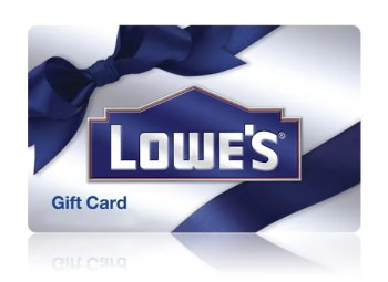 getting free gift cards to Lowes