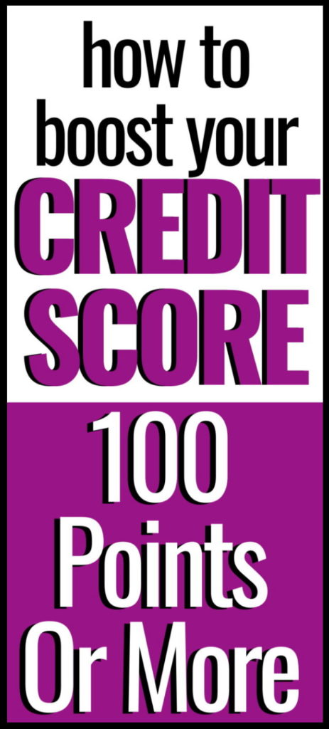 how to boost your credit score 100 points fast