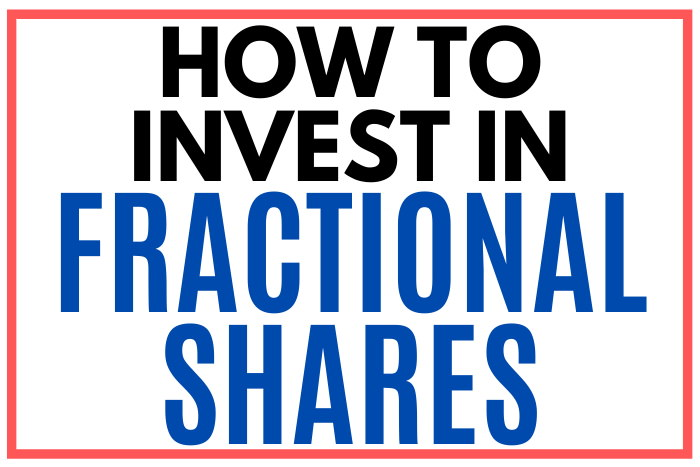 how to buy fractional shares of stock