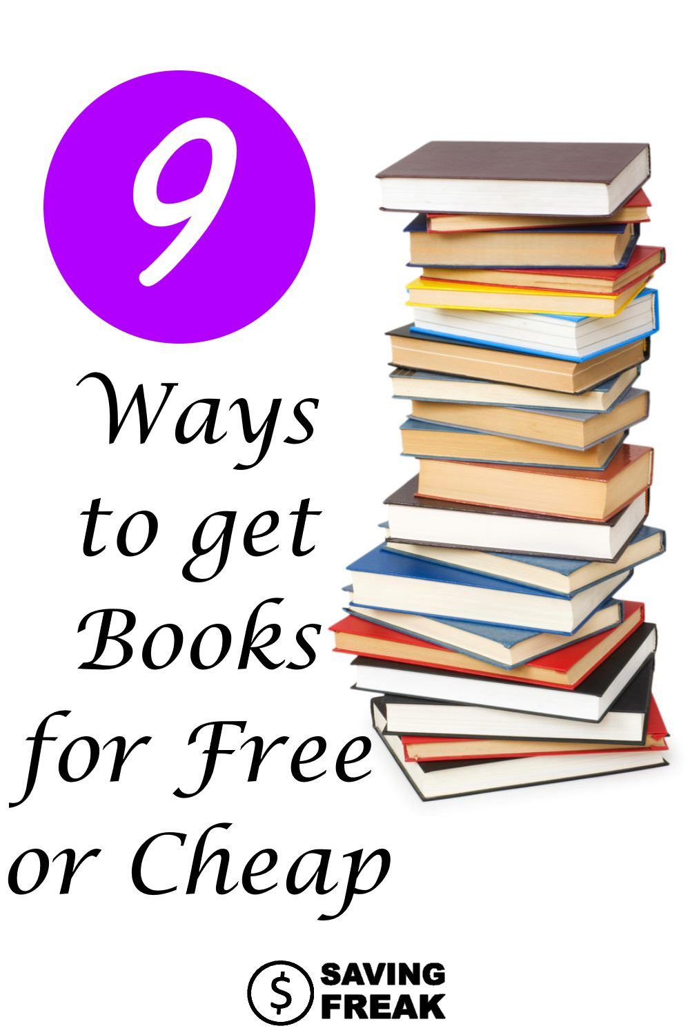 how to get books for free or cheap