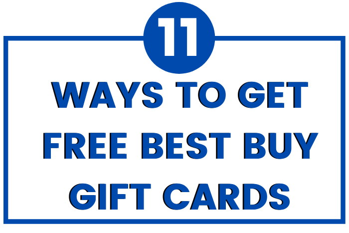 how to get free best buy gift cards