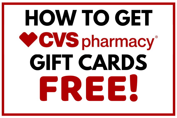 how to get free cvs gift cards