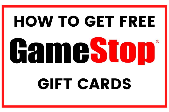 how to get free gamestop gift cards