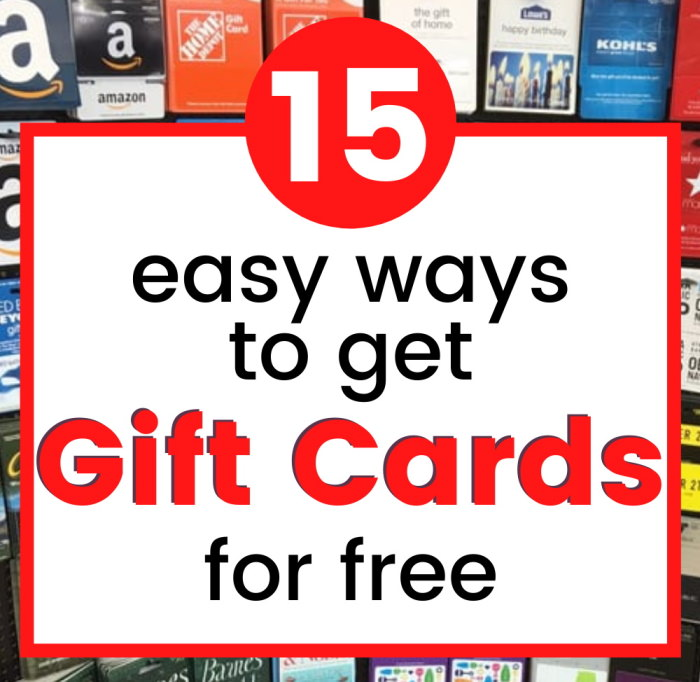 how to get free gift cards fast