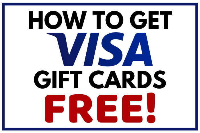 how to get free visa gift cards
