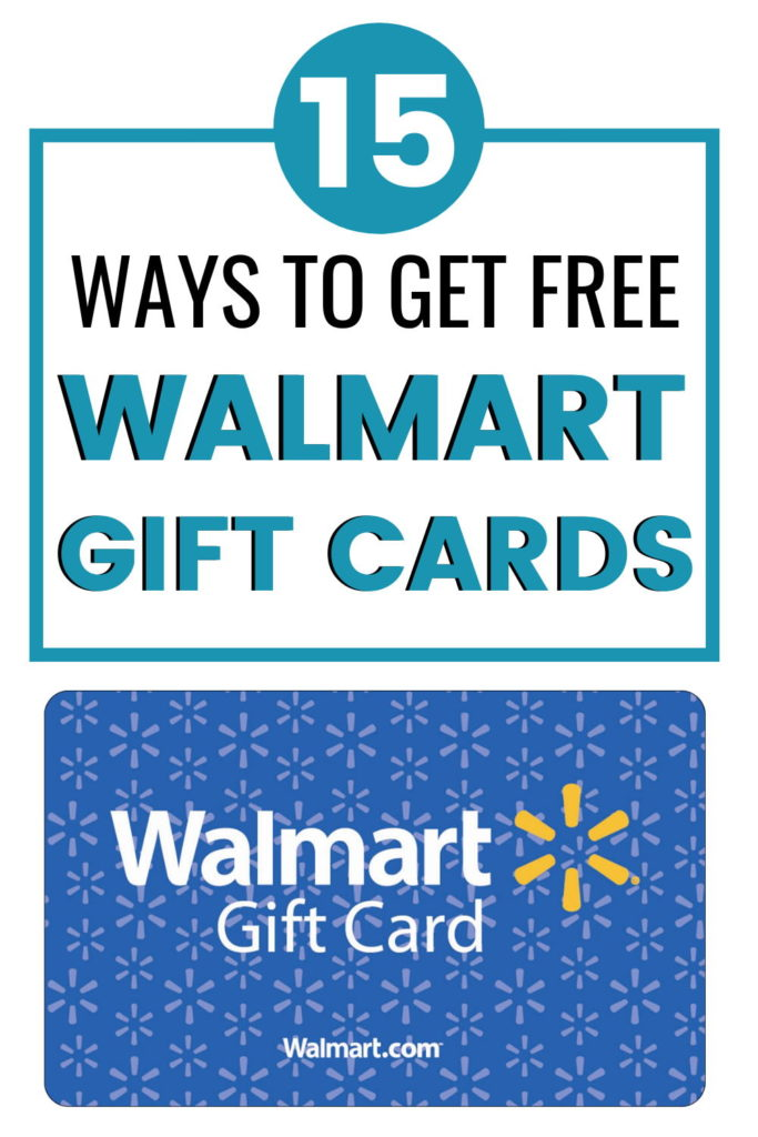 how to get free walmart gift cards fast