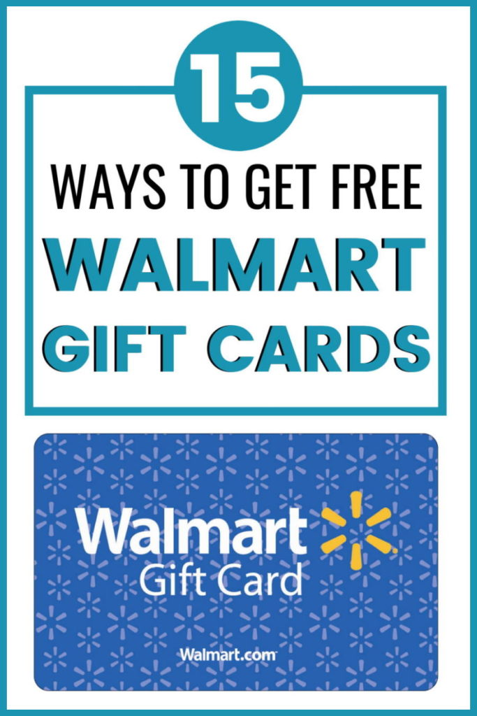 how to get free walmart gift cards fast onilne