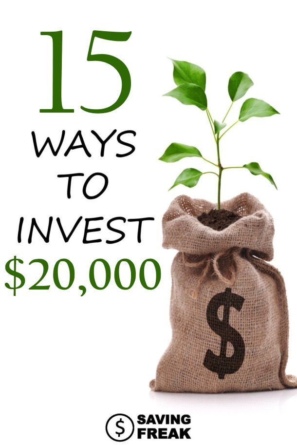 how to invest 20000 dollars