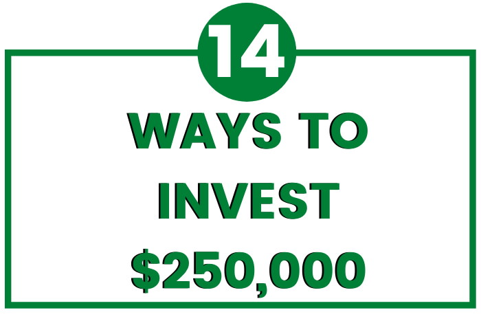 how to invest 250k dollars