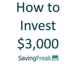 how to invest $3000
