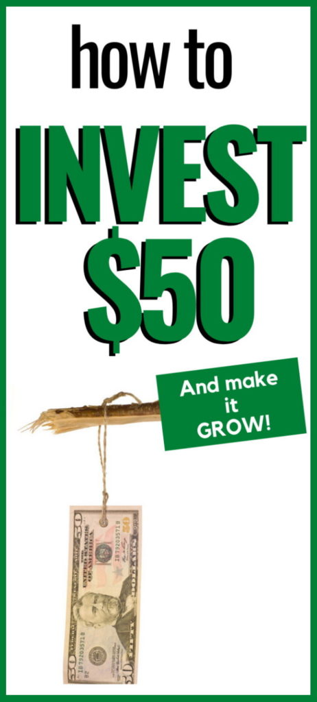 how to invest 50 dollars wisely online
