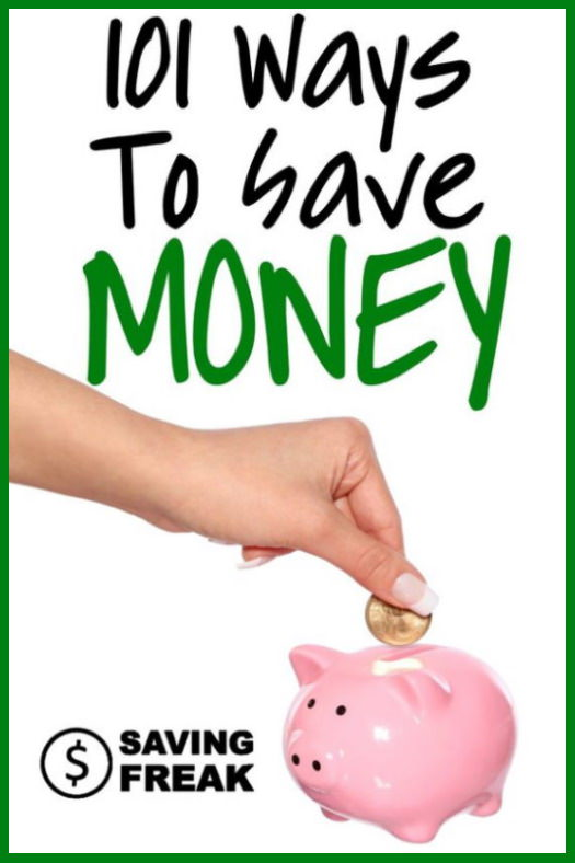 how to save money at home or online