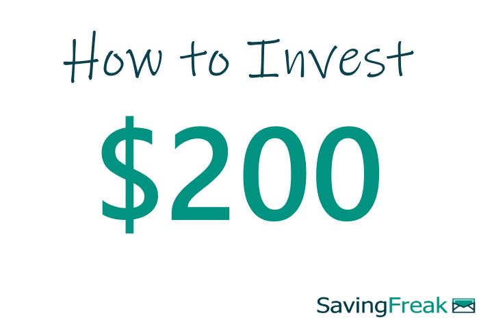 investing 200 dollars