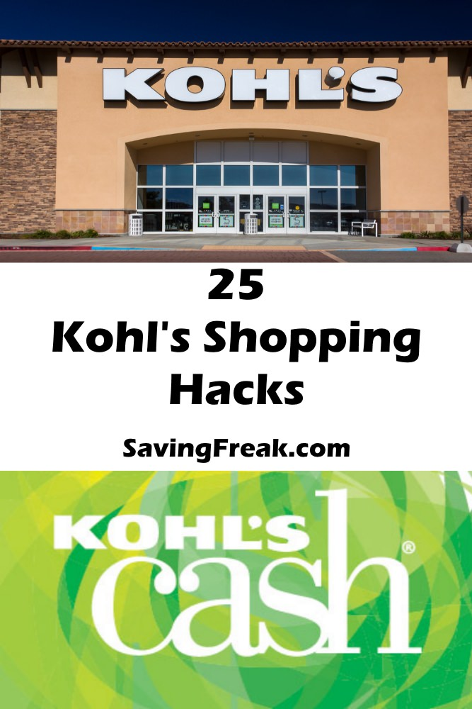 kohls shopping coupons and discounts hacks