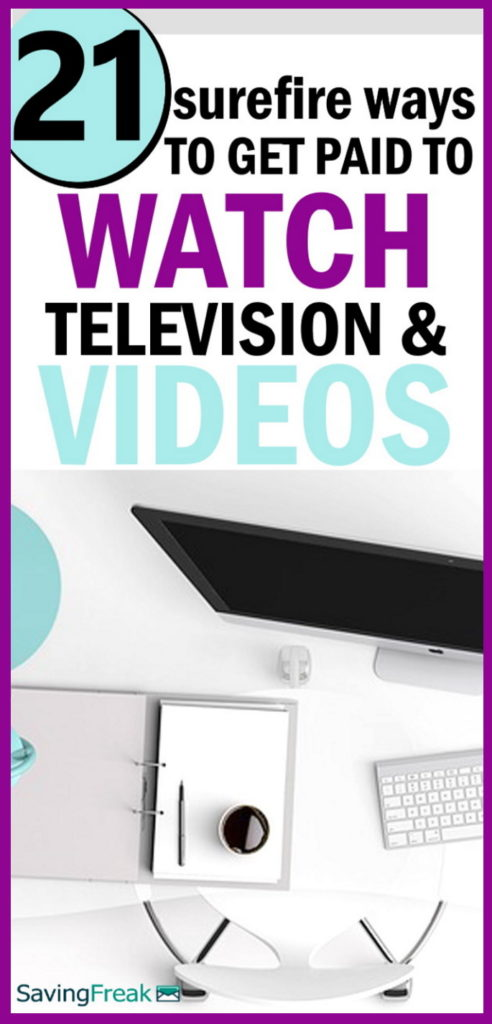get paid to watch videos and television online