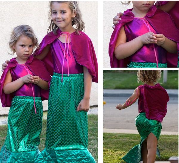 mermaid diy halloween costume