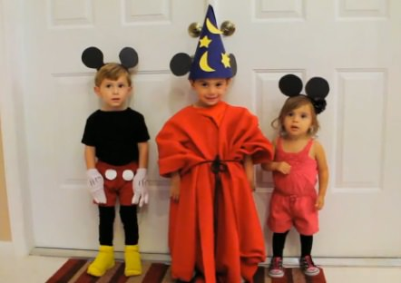 mickey and minnie diy halloween costumes
