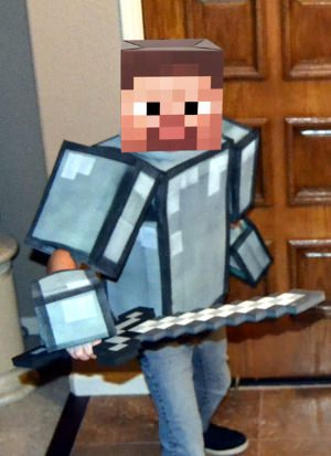 minecraft armor costume