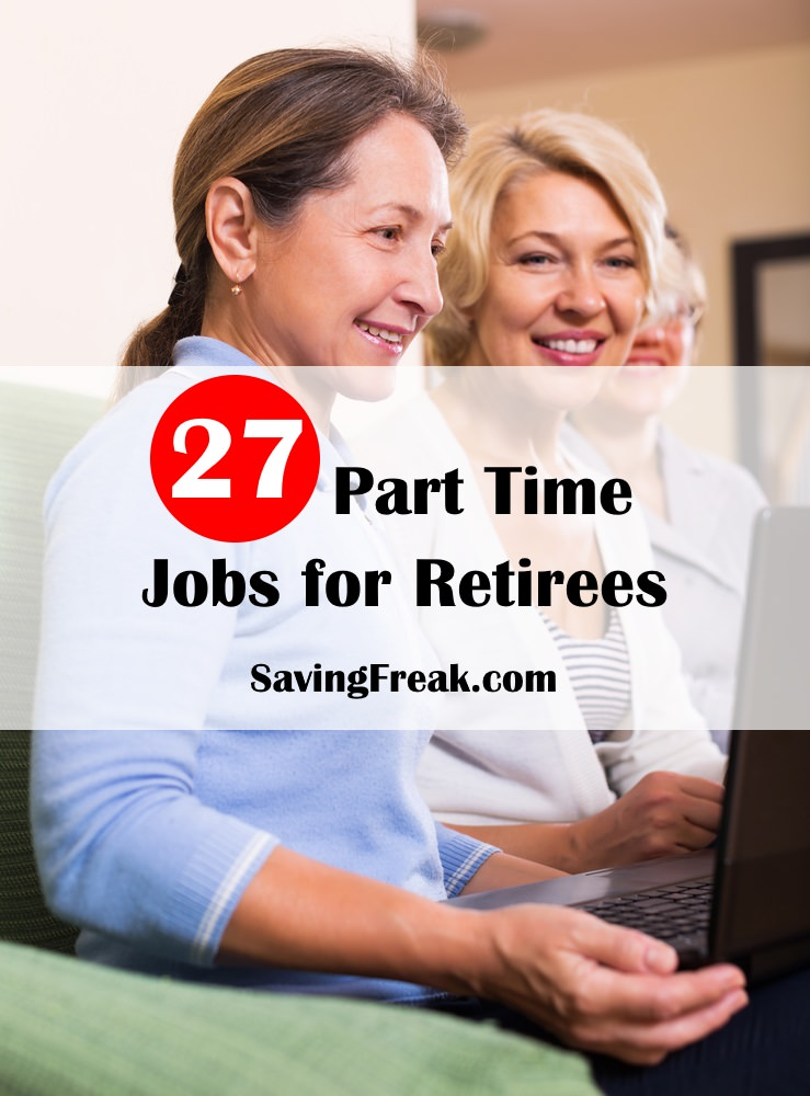 part time jobs for seniors and retirees