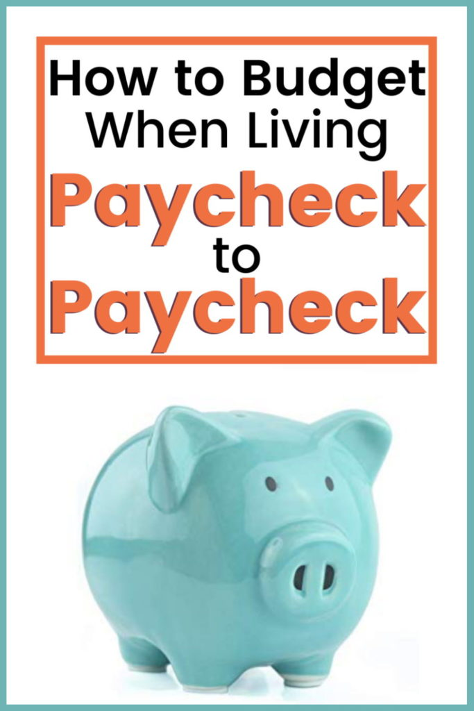 paycheck to paycheck budgeting for beginners