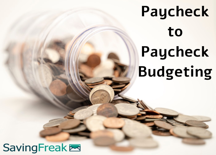 paycheck to paycheck budgeting