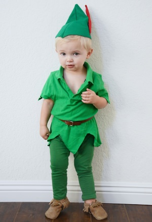 peter pan toddler costume