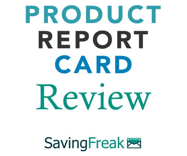 Product Report Card Review