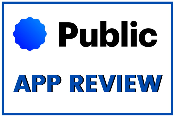 public app reviwe with logo