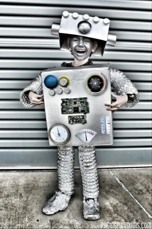 robot diy halloween costume